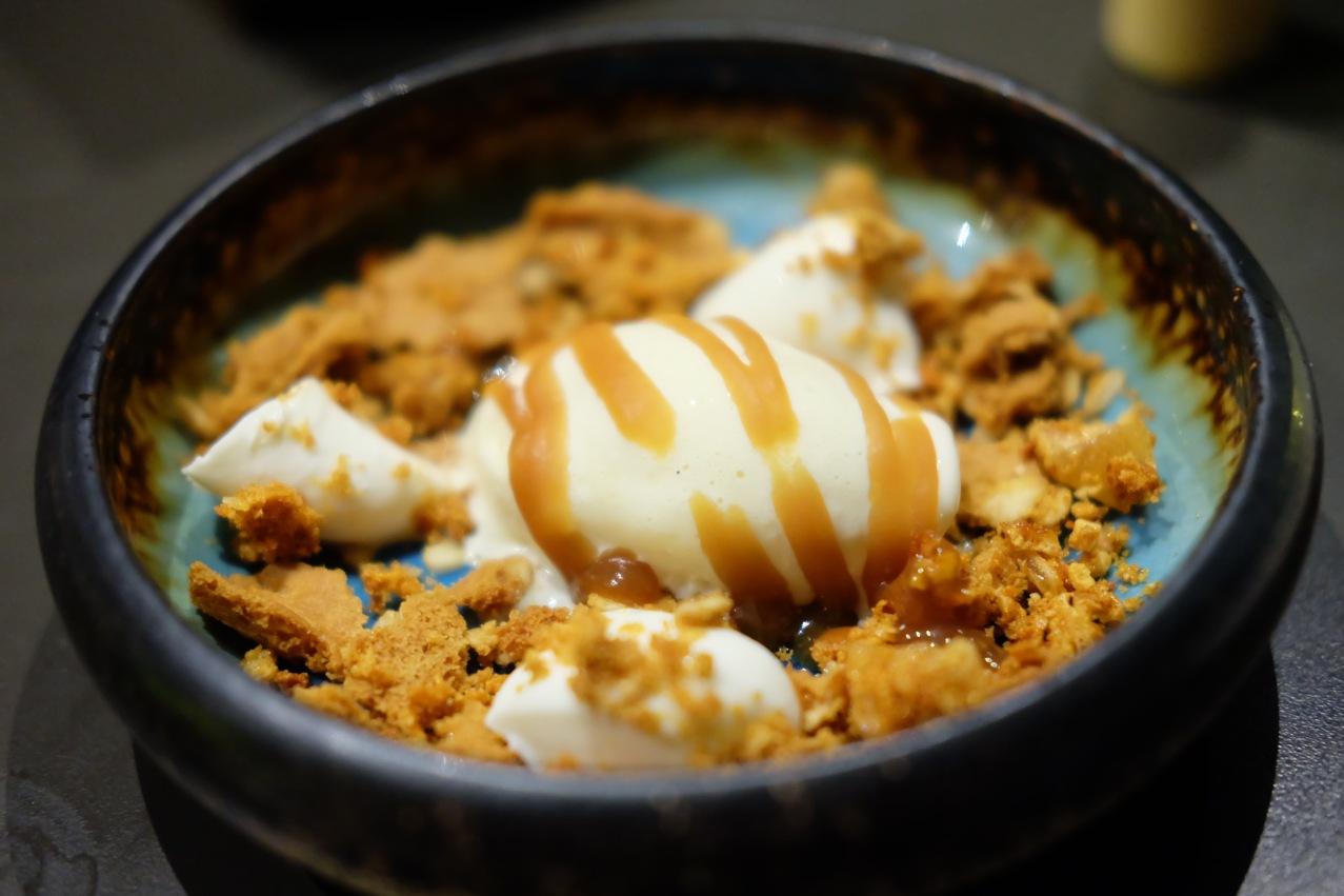 Milk & Honey, goat's cheese ice-cream